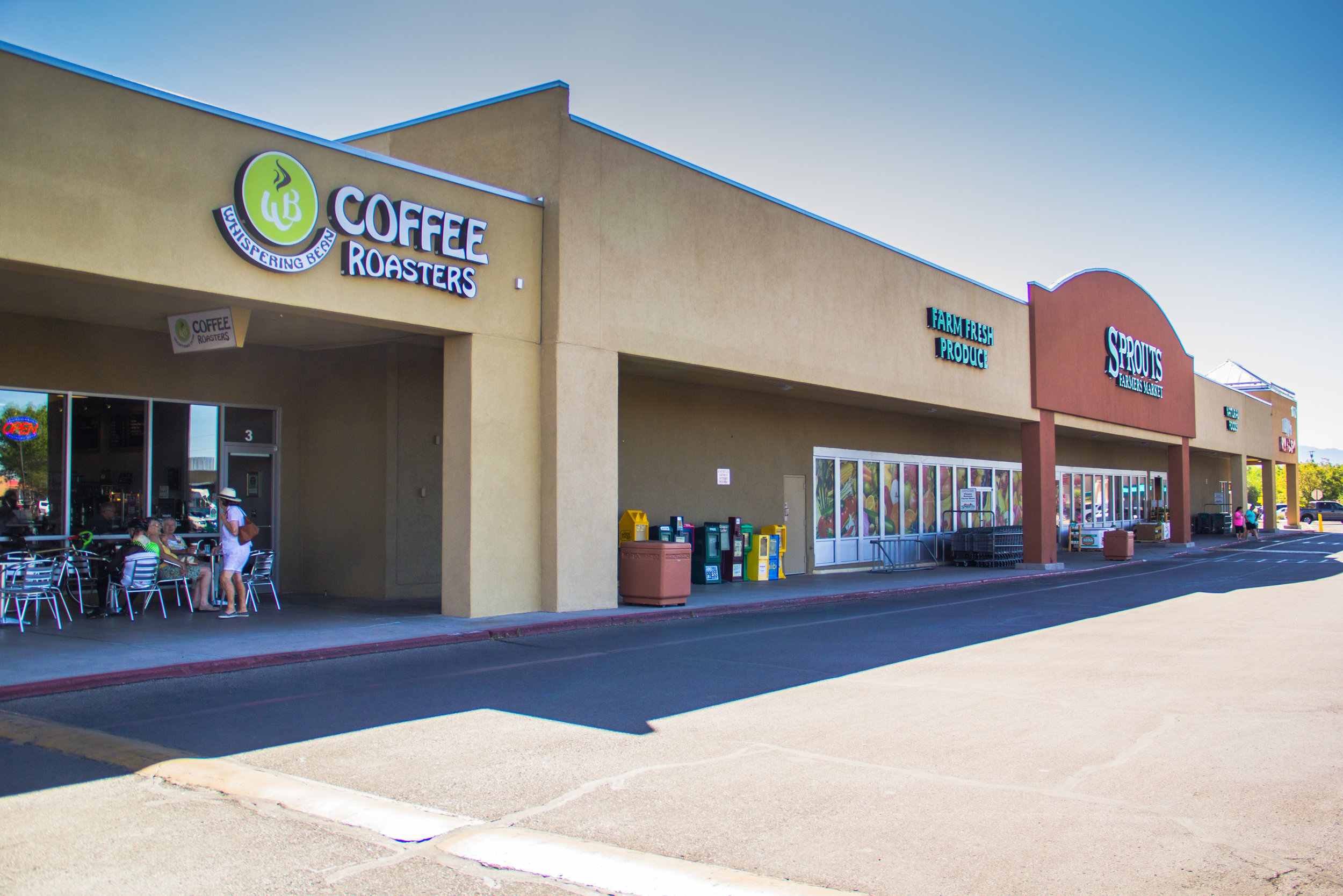 Located next to Sprouts on Coors & Alameda