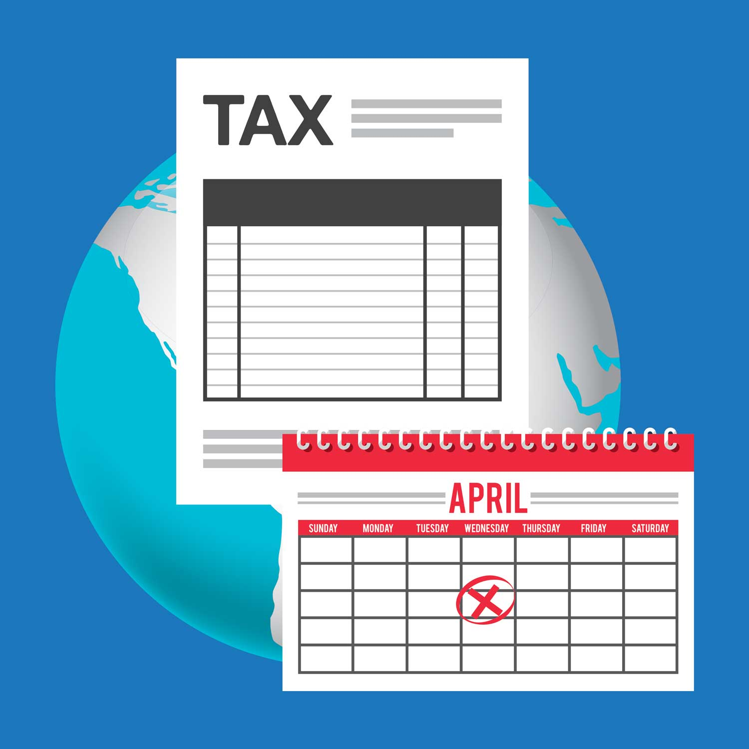 Tax Payments - Deposit payments before due date for federal, state, unemployment, workers compensation, and other payroll related taxes or payments.