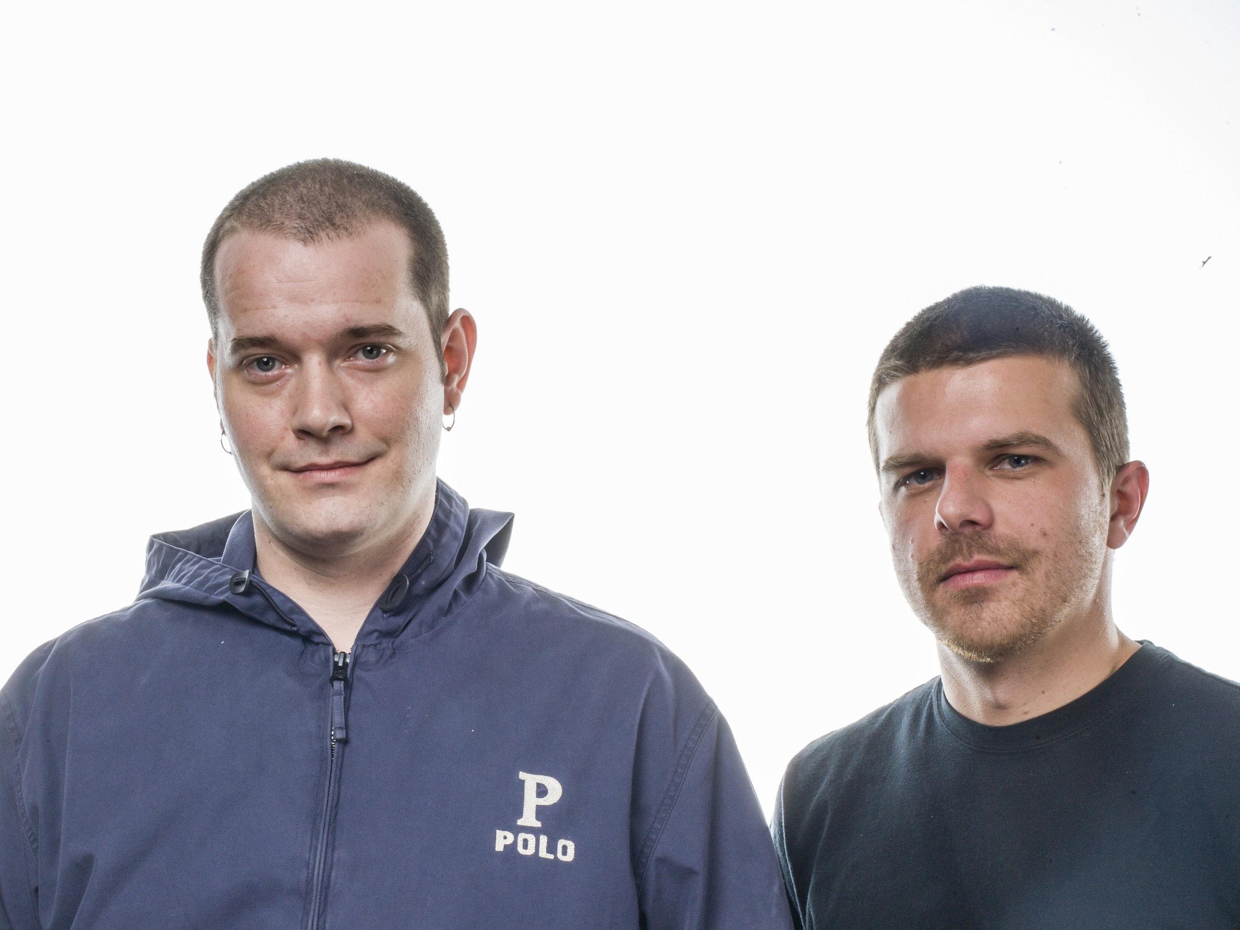 Founders Randy Lively and Matt Turner.