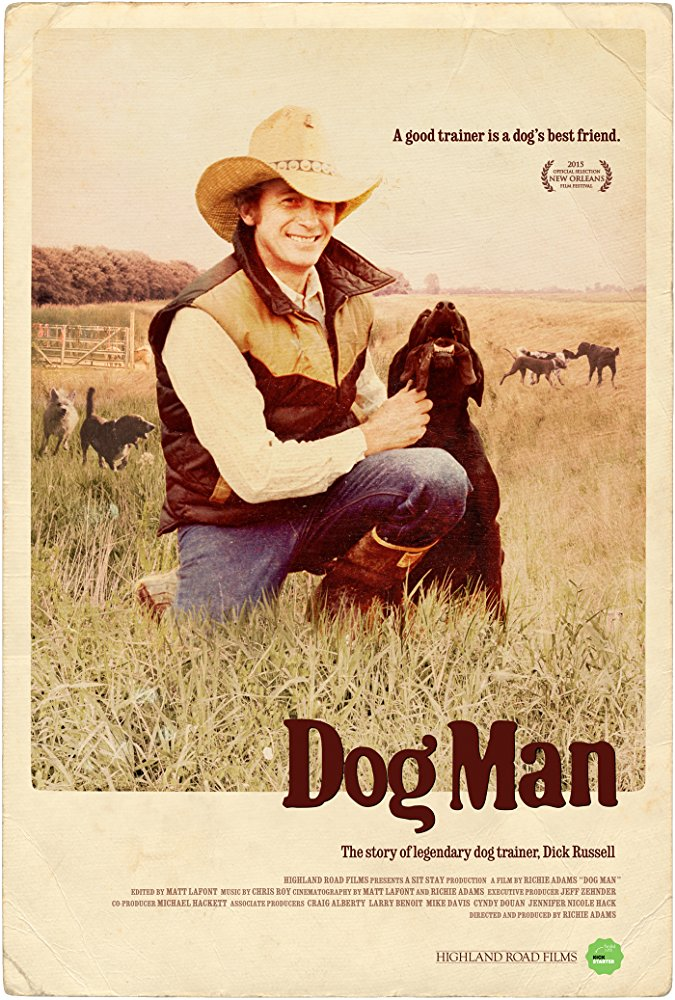Documentary review of Dog Man: The story of legendary dog trainer, Dick Russell.