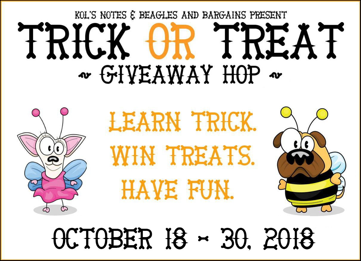 Trick or Treat Hop! Learn how to train your dog to back up at McSquare Doodles.