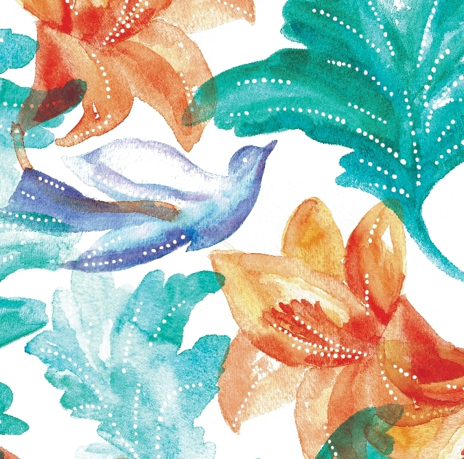 watercolor - Flowers, birds, landscapes, soft brushes and strokes, we love it all.