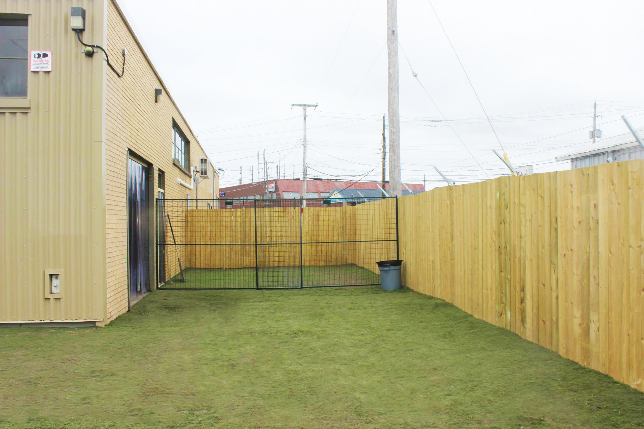 Outdoor play area at our Lady Hammond Road location