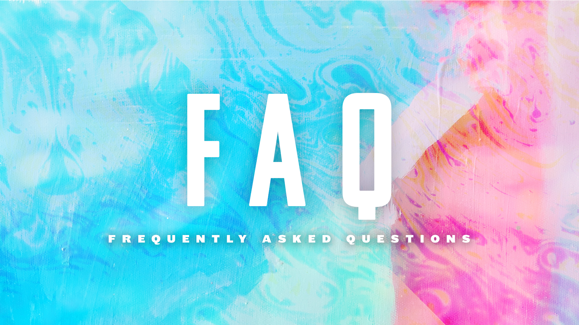 Submit your FAQ - We are kicking off a series to answer the pressing questions about life. Submit your question below to be considered for the next sermon topic.
