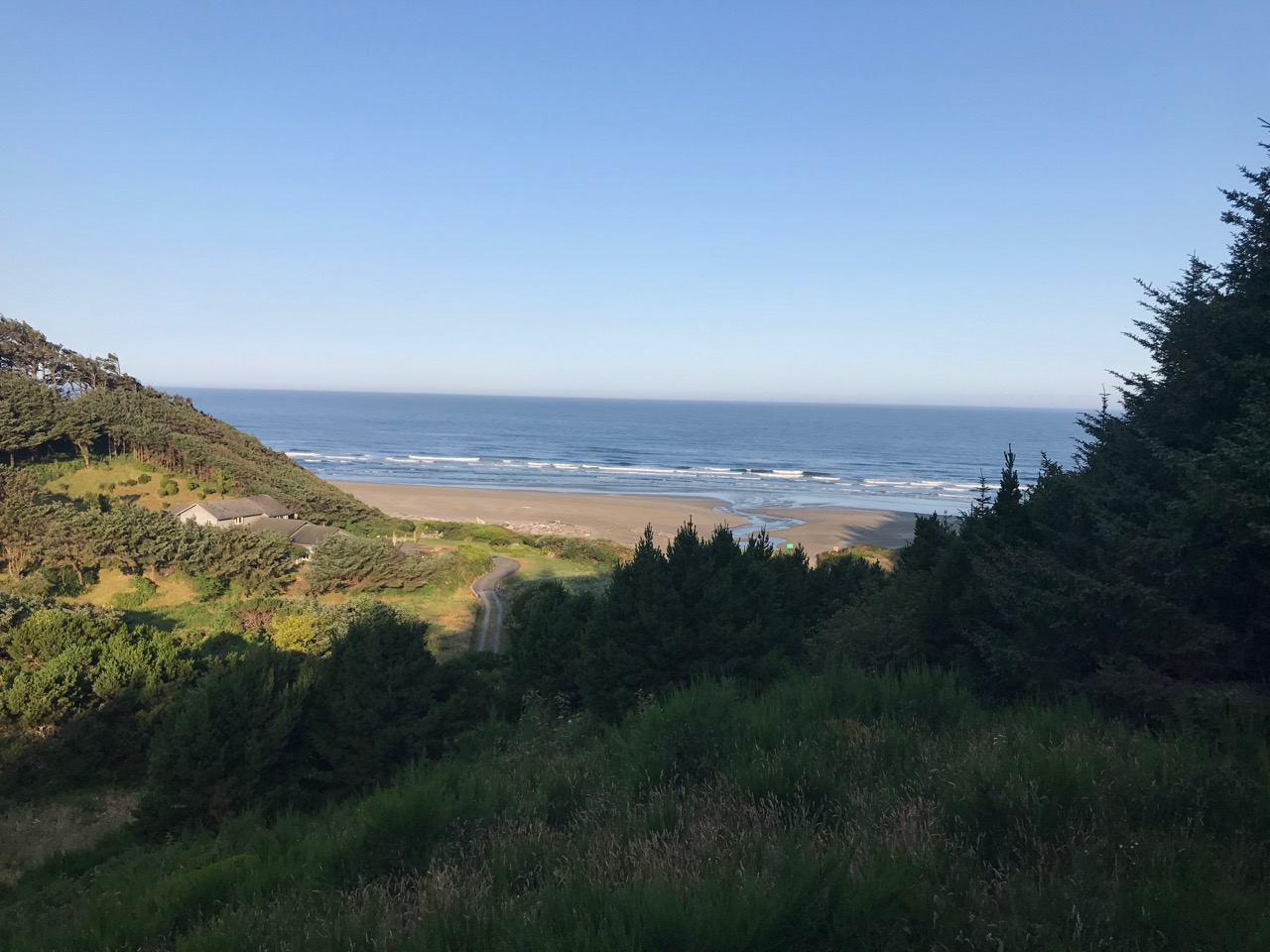 View from Bandon House