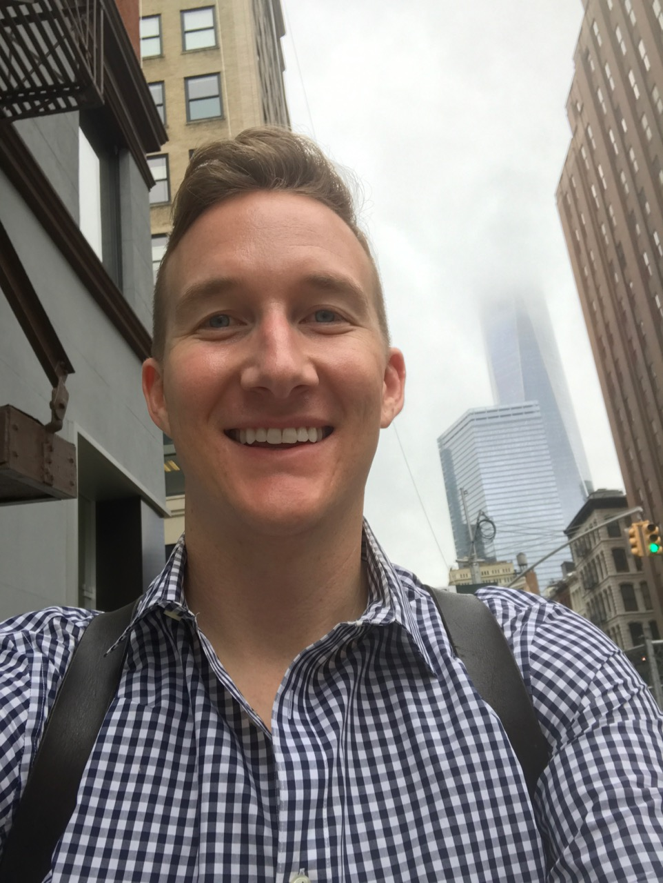 Tyler Ray (Sierra's college friend) met us for breakfast in New York City!