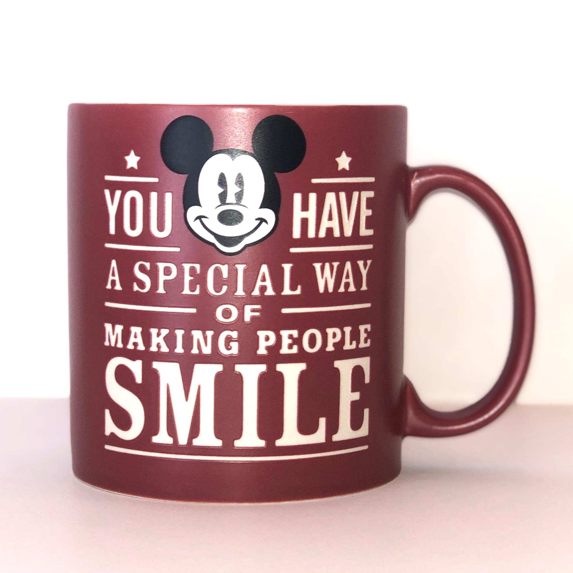 Leroy's favorite Disney mug that he rarely uses.