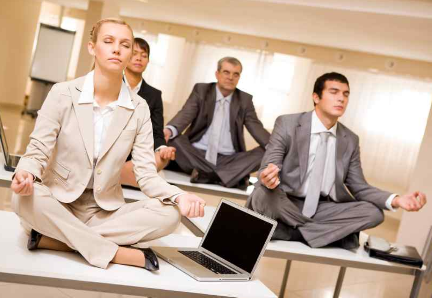 WORKPLACE WELLNESS - Meditation and intuition are the two most effective business tools for 21st century executives (according to the Harvard Business School and INSEAD, Europe's leading business school). Contact us for presentations, workshops, and meditation experiences customized for your place of business. Pricing Varies.