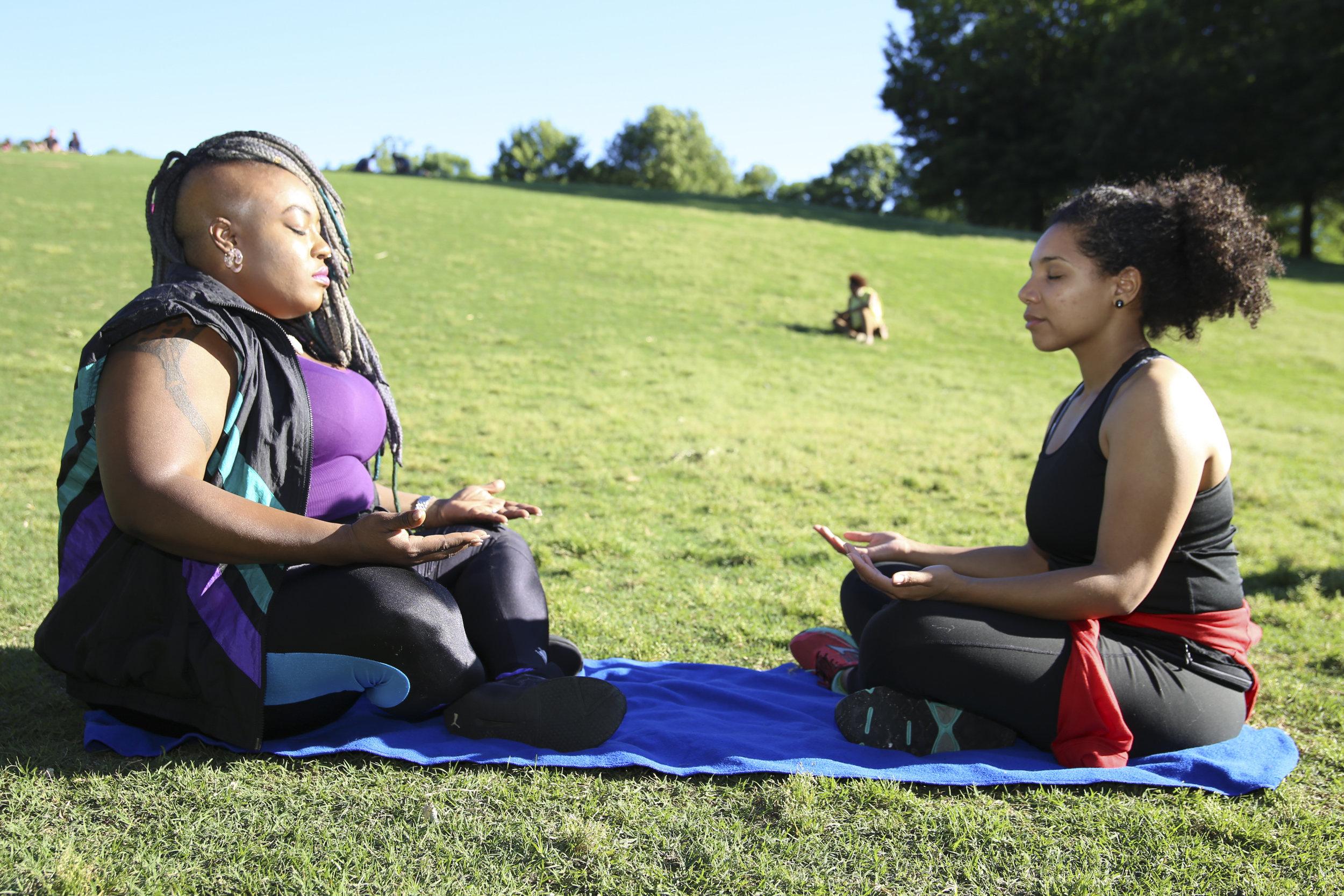 RELAXATION & MEDITATION -