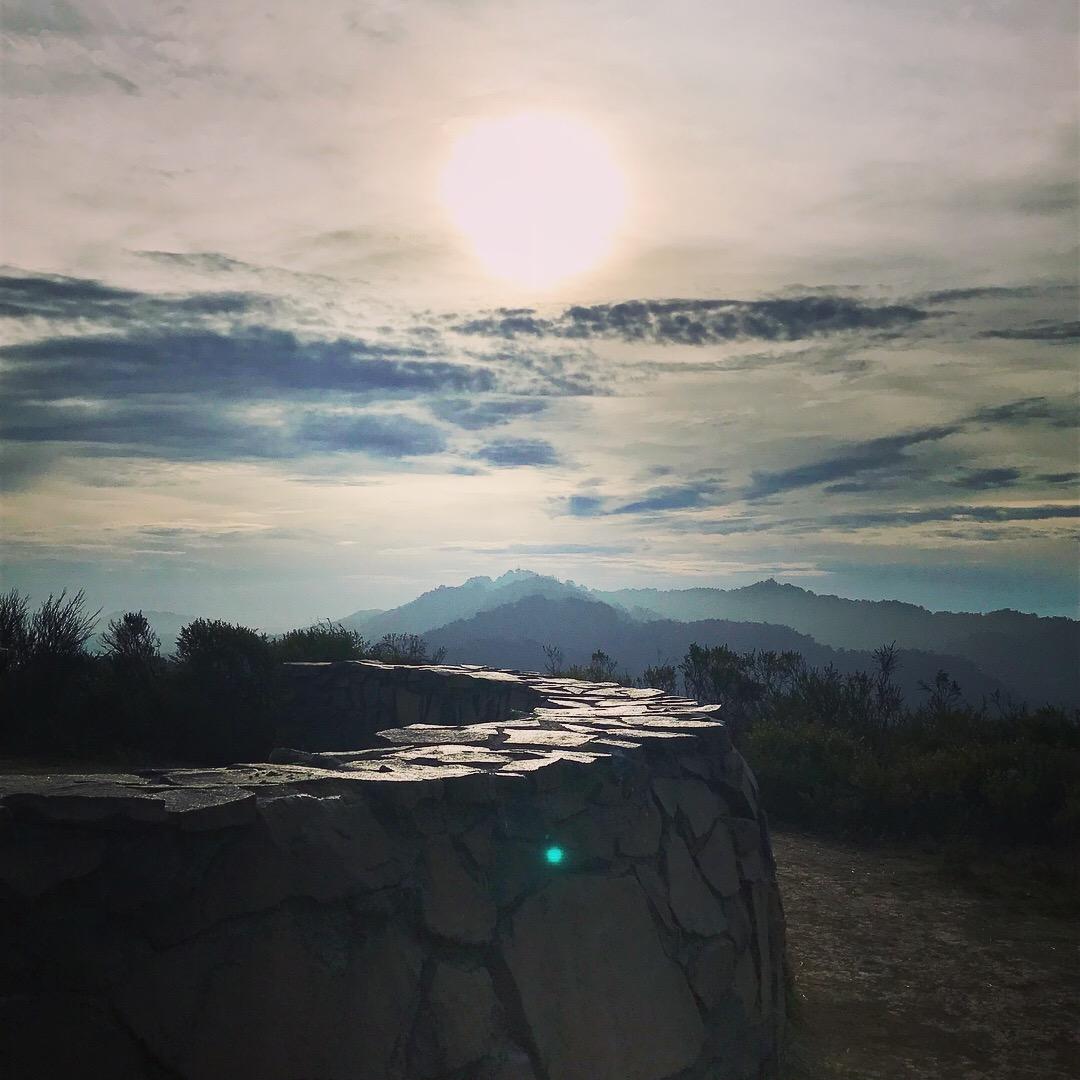 View from the top of Wildcat Peak, Berkeley, CA