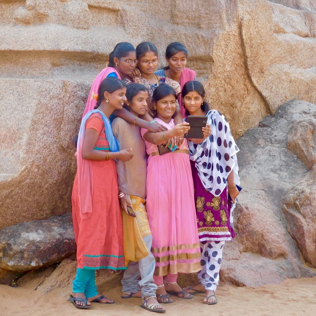 Group Selfie at the Five Ratas