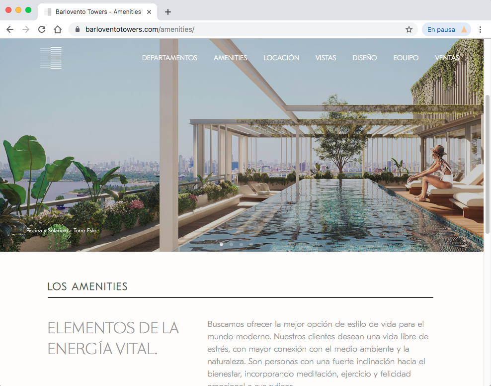 Barlovento Towers Website