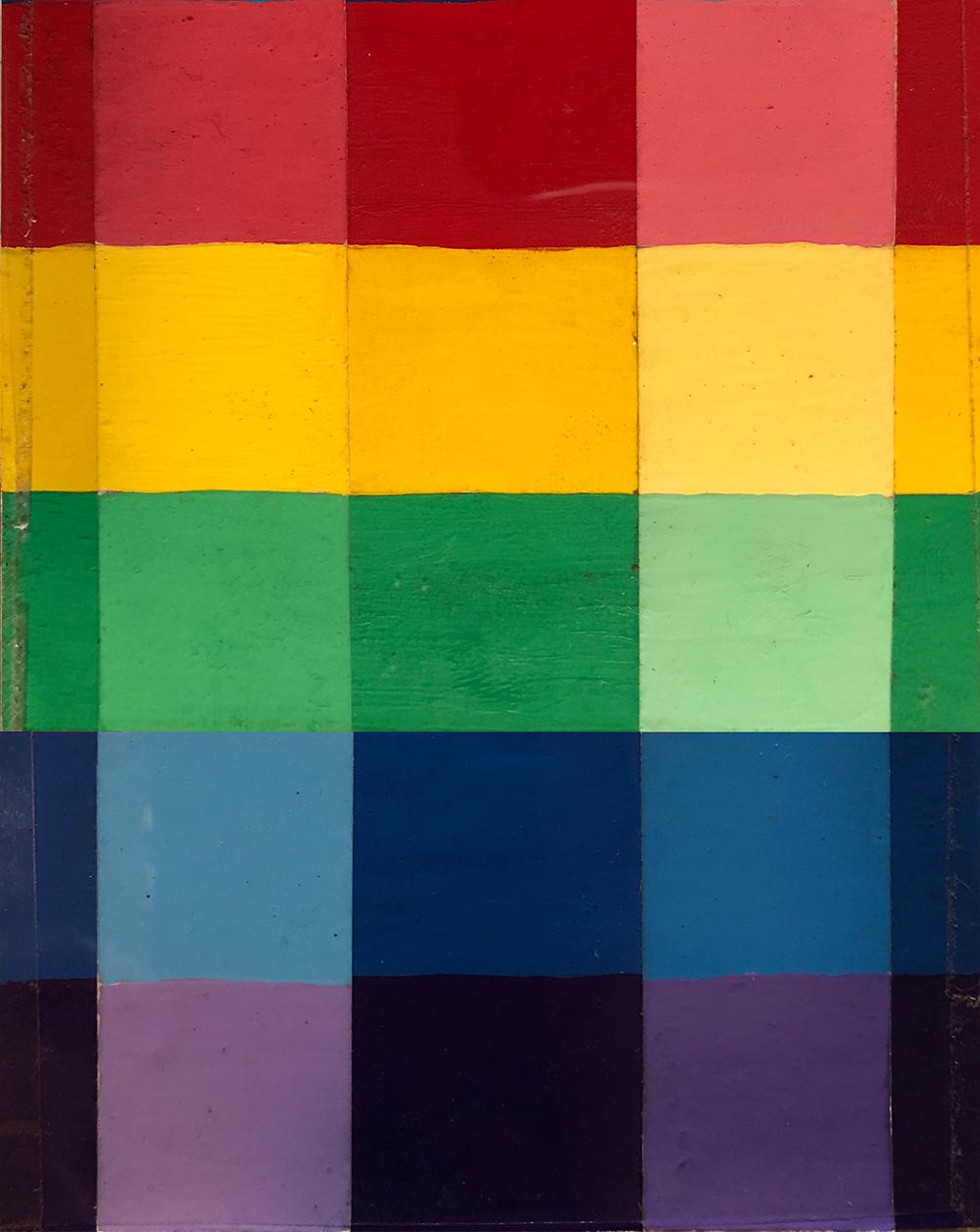 Color study.  Gary Perrone 1982. Gouache.