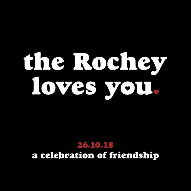 TOMORROW NIGHT LEGENDS! @tellyourfriendsyoulovethem & @therochey with love from @younghenrys & @tequilatromba are throwing a Celebration of Friendship ❤️❤️❤️ Come down to the Rochester Hotel for a night of love, beers, high fives & music.  Starting off at 6pm with a hour of free beer from @younghenrys followed by 2 for 1 beers until 9pm. Backing that up is @tequilatromba helping us out with 2 for 1 tequilas from 9 to 10pm. If that's not enough we've got a raffle to give away a whole Keg of Young Henry's beer, free photobooth & free pool. Want more!? We've also got Hurricane Jane, Dawkwind & The Grateful Dad DJing all the party tunes from 7-10:30 right up until @spiketheriver puts on the show of his life!!! LOVE YOU GUYS. ❤️❤️❤️❤️ We cannot Thank the Rochey enough for the opportunity, and to @younghenrys, @tequilatromba and every other person that's helped us make this happen.  LOVE YOU.