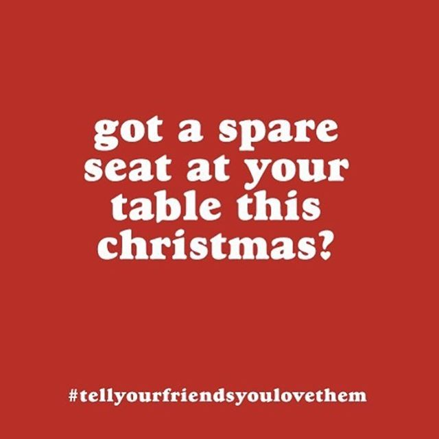 G'day legends! Shouting out to remind you that not all of us are lucky enough to spend Christmas with the ones we love, check in that your mate has a place to have a few too many eggnogs? ❤️❤️ #tellyourfriendsyoulovethem  #friendsarethefamilyyouchoose