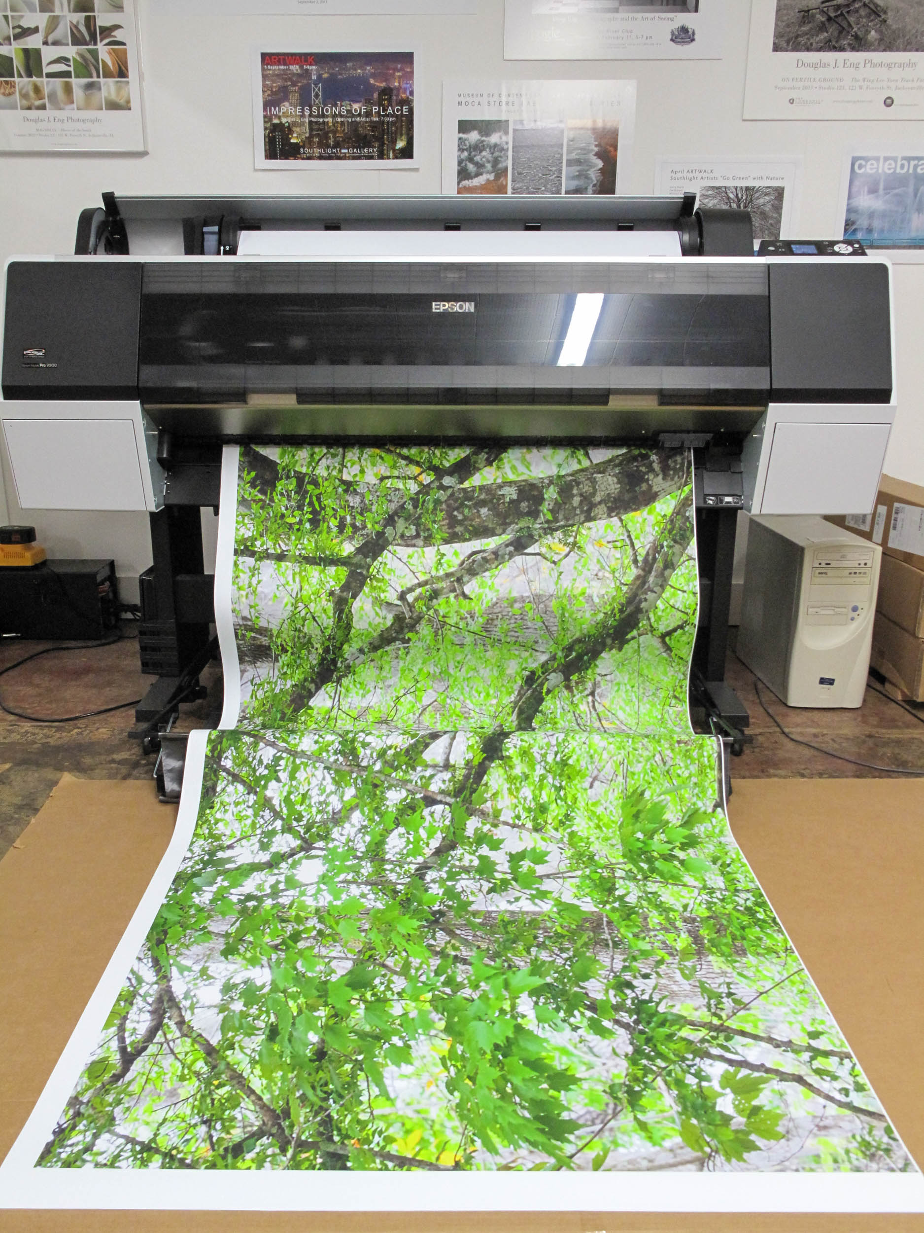 Printing one strip