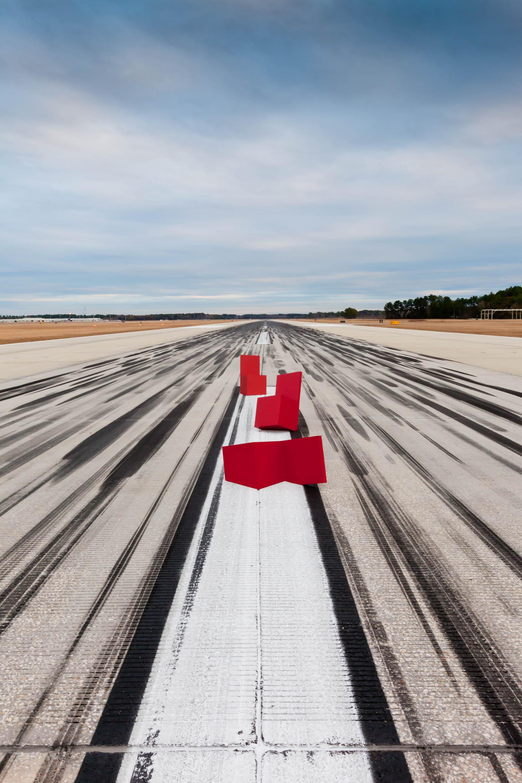 Landing on Runway 13