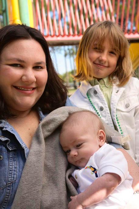 Amanda, Kayla and Presley