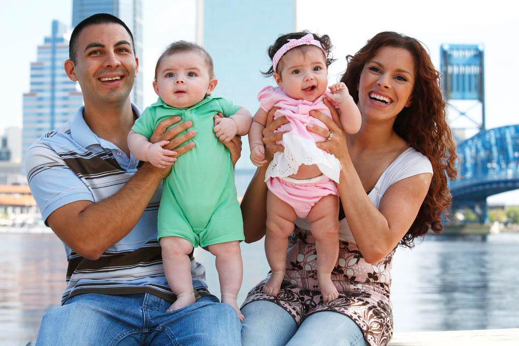 John, Angel, Alana, and Isaiah