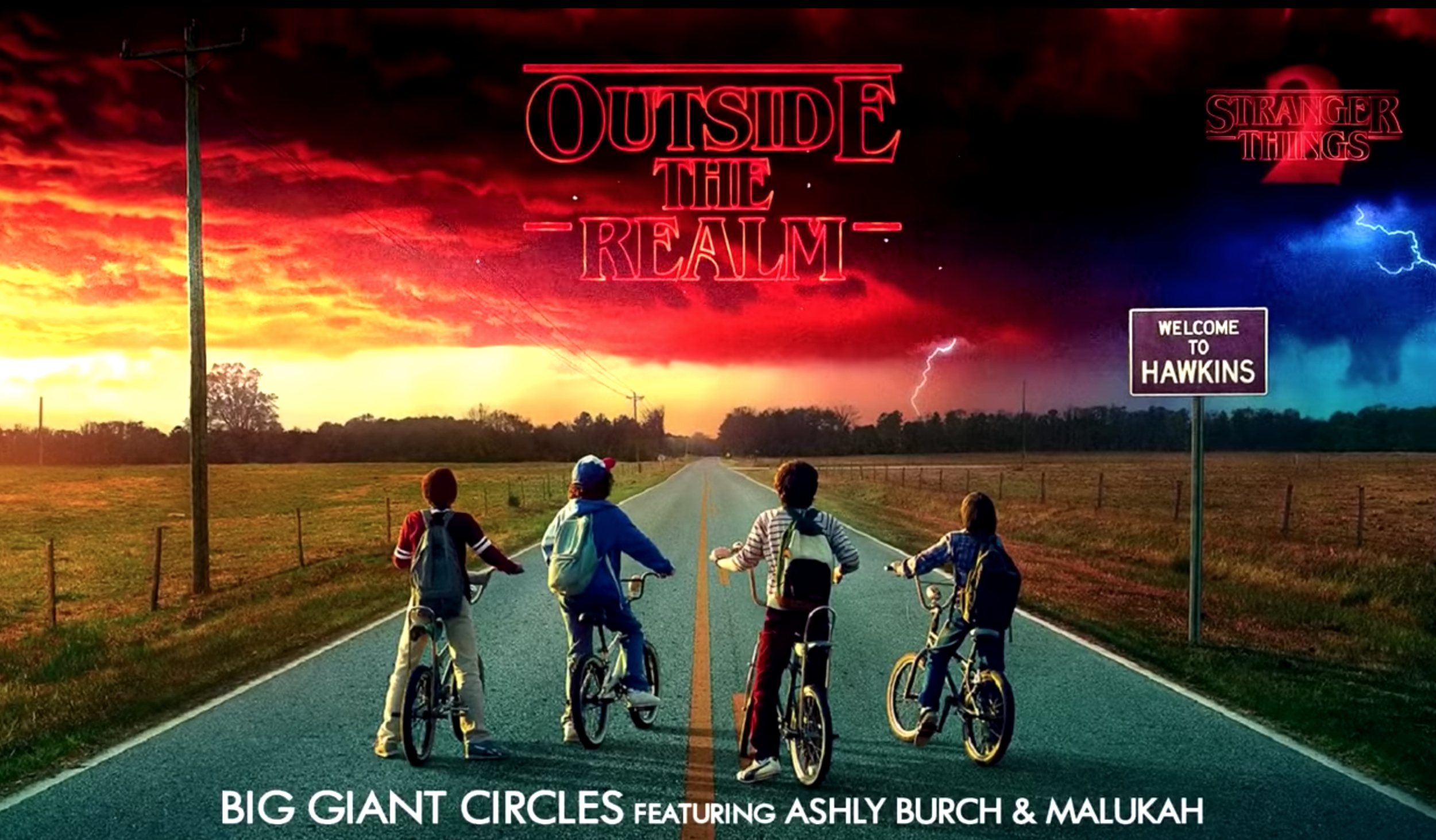 Big Giant Circles Outside The Realm featured in Netflix's smash hit 'Stranger Things'