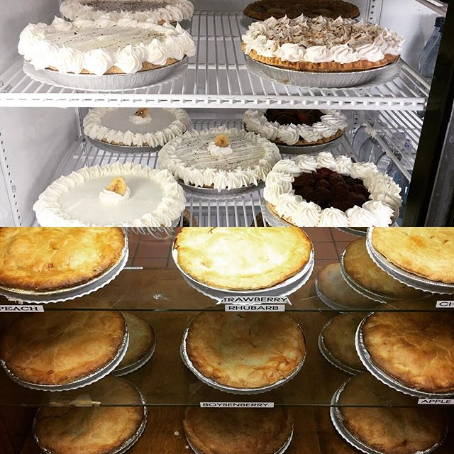 Tomorrow is Mother's Day. Moms love pie, so come on in and get her one today. We are open until 6pm.