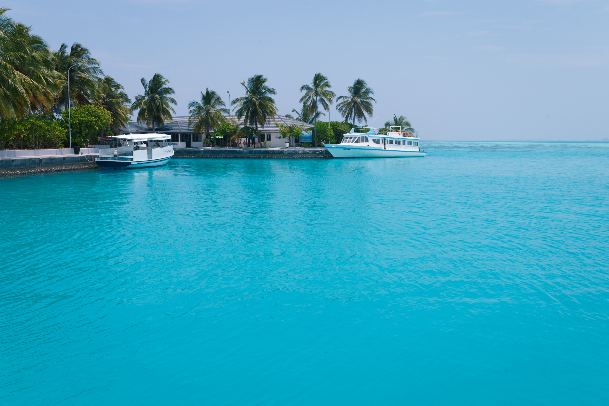 The Blues of the Maldives