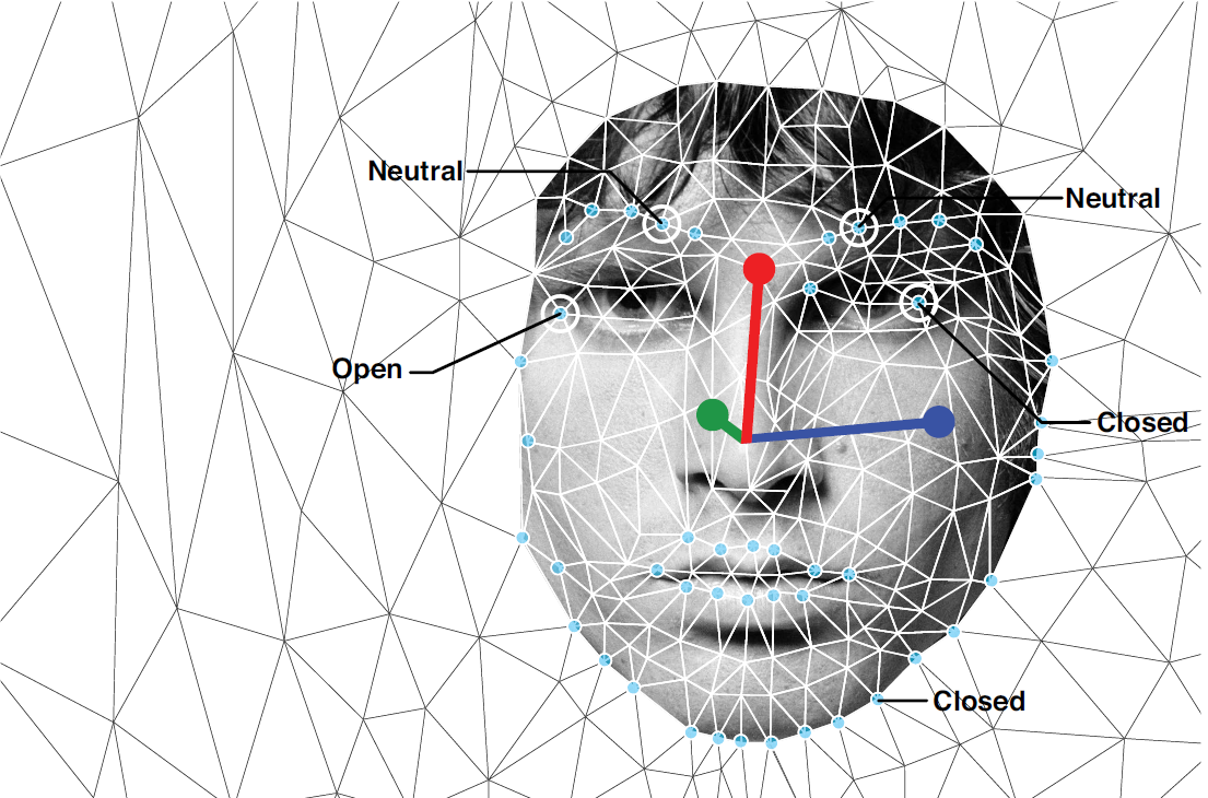 Face-reading software interprets emotions in famous portraits.  →