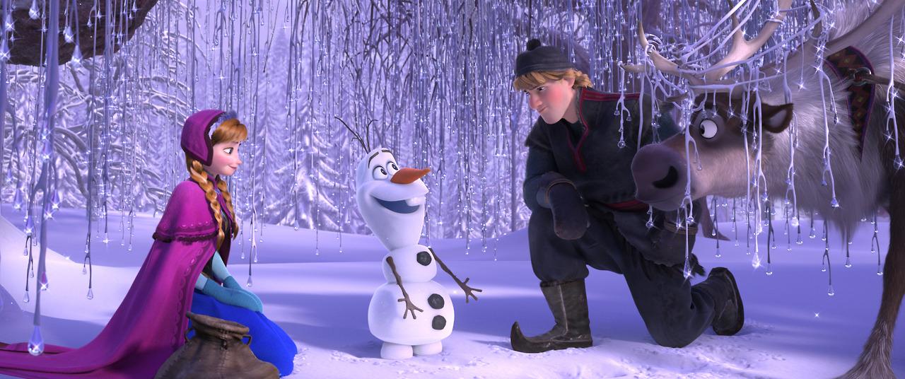 The cast of Disney's 'Frozen'
