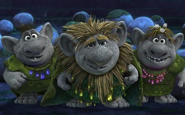 """The trolls of """"Frozen""""."""