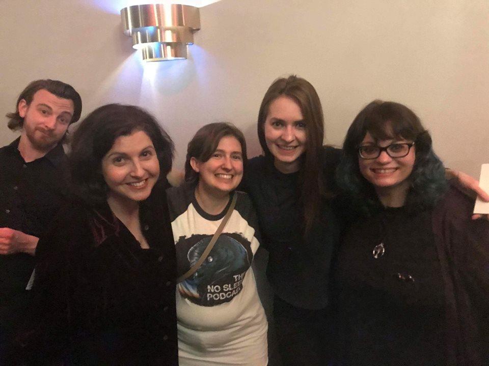Brandon Boone, Erika Sanderson, Lindsay Moore, Jessica McEvoy, and Nichole Goodnight, 2018.