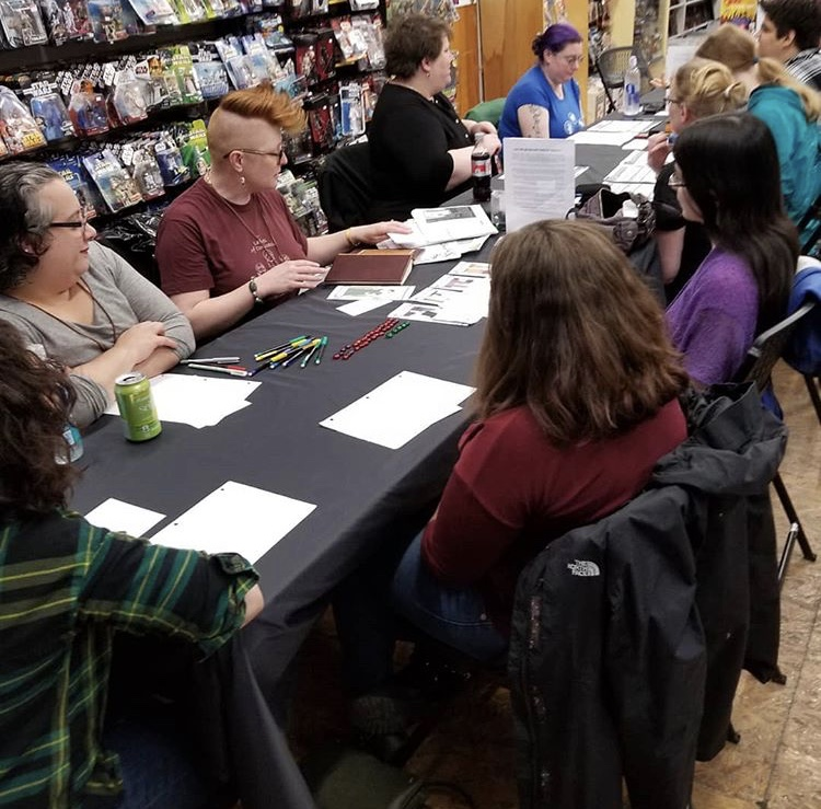 Try An RPG Day 2018 was a rousing success!