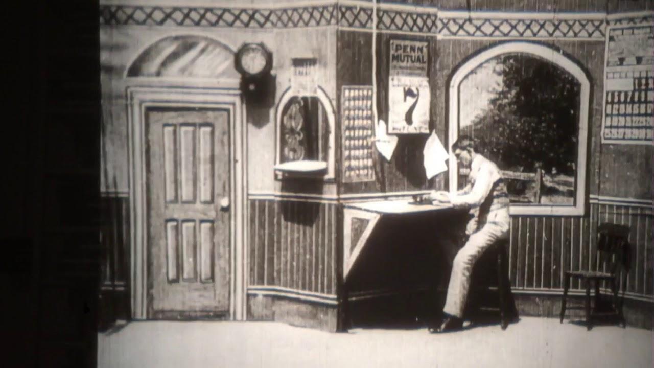 Director Siegmund Lubin's 1904 remake of  The Great Train Robbery