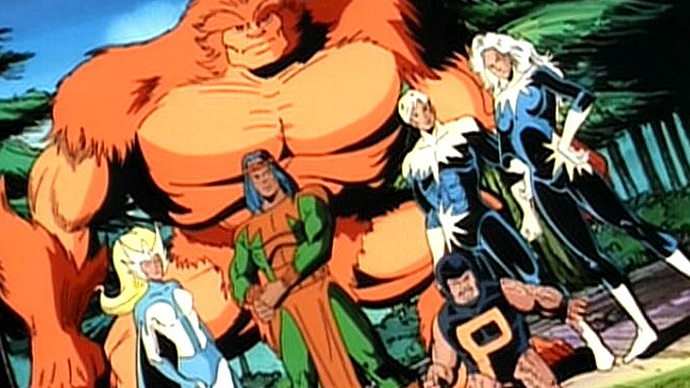 Alpha Flight making their animation debut.