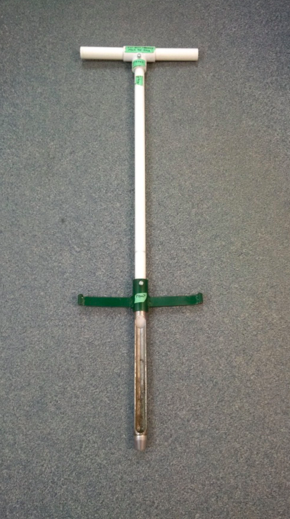 Step-in soil probe; photo by MB Ag.