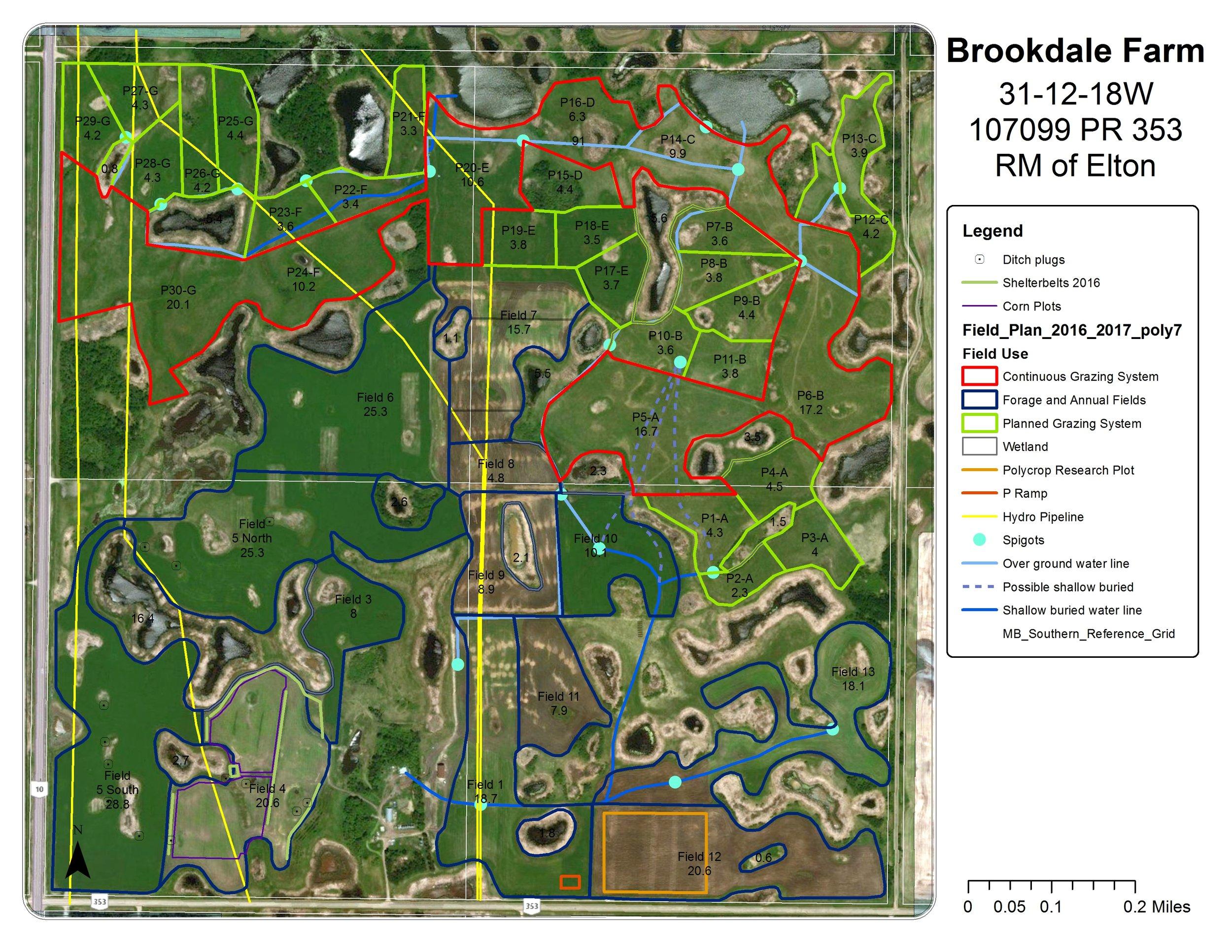 Brookdale Map