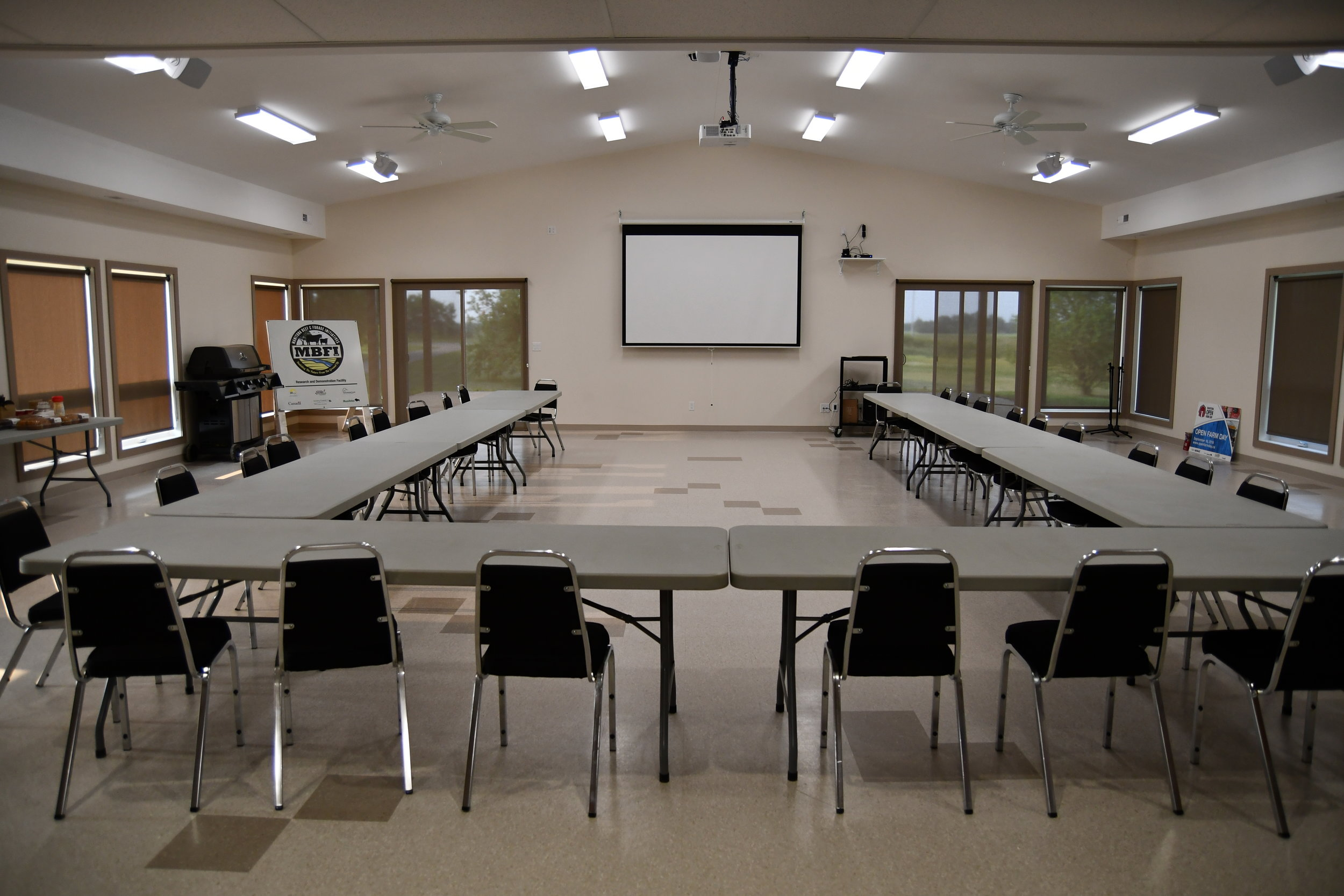 MBFI Learning Centre Indoor Classroom
