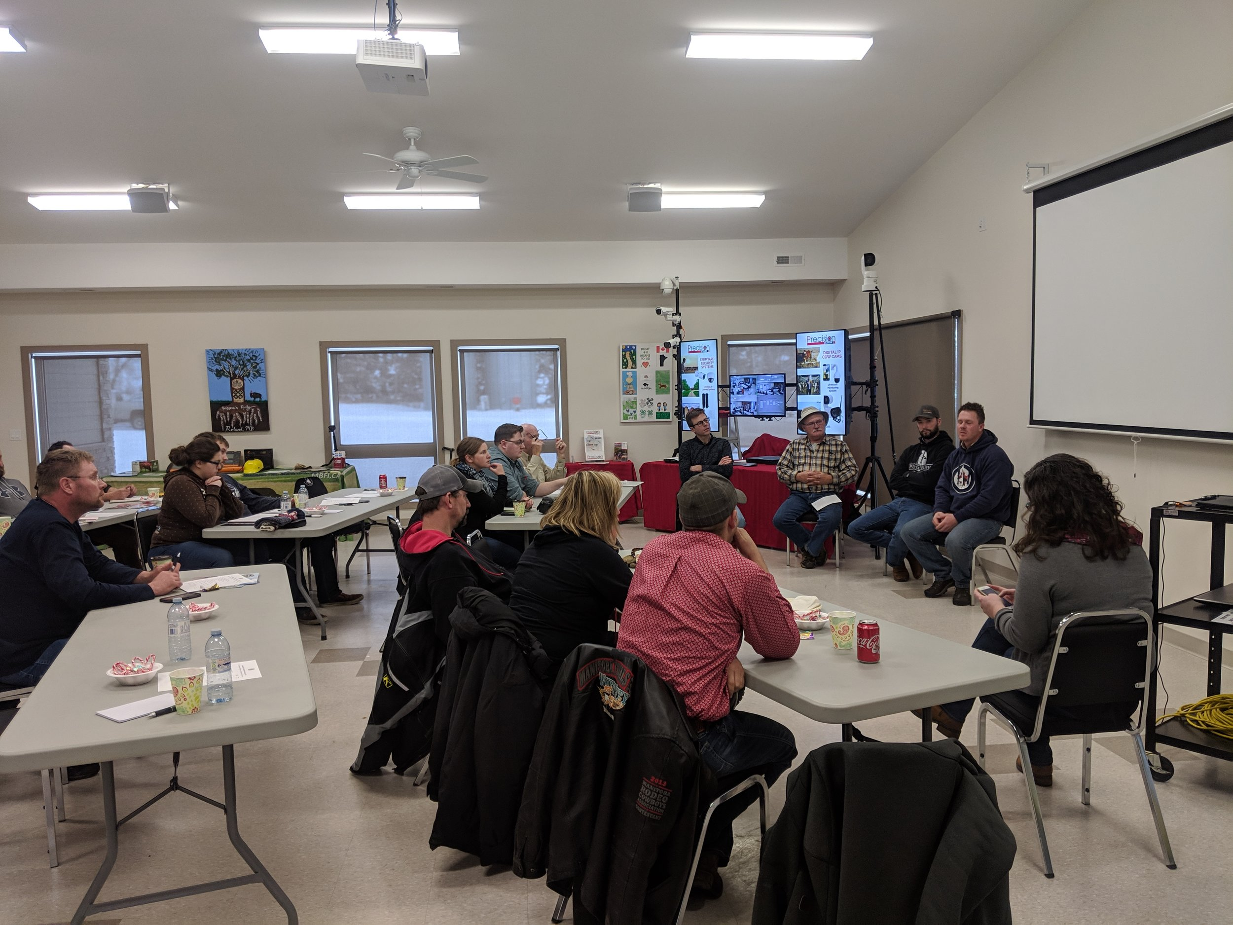 MBFI 1st Producer panel at the Winter Grazing Workshop 2018