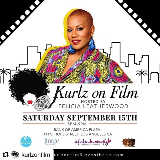 #KurlzonFilm is just days away!! Have you purchased your tickets yet?? Go to @kurlzonfilm and click the link in bio! We'd love to see you there 😊  #Repost @kurlzonfilm with @get_repost ・・・ We are THRILLED and HONORED to announce our #PresentingSponsor @Curls for this year's #KurlzonFilm! ➰ #LosAngeles • Join us this Saturday for a magical night celebrating natural hair, natural beauty and feminine power in film and in life!  A very special night for us, by us. ➰ This year's short film features include: The History of African American Women and Their Hair, Evolution of Natural Hair on The Big Screen, and Braids & Appropriation in America. ➰ Guests will be treated to goodie bags generously sponsored by @curls + light nosh🍗, @kettlecornstuff's signature gourmet popcorn 🍿 + @kurlzonfilm signature drinks 🍹+ shopping in the vendor marketplace with @hausofswag @the.hoodfairy @runwayboutiquela @ohmyyonibe + soundscape by @djdayslayer 🎧 and more ➰ Join us! {clickable ticket link in bio} ➰ created just for you by: #FeliciaLeatherwood (@lovingyourhair) & Patrice Elizabeth (@afrikanbuttafly) ➰ #naturalhair #film #shortfilms #filmfestival #LosAngeles #LAcurlygirls #naturalistas #naturalsinfilm #naturalhairinhollywood #naturalistas