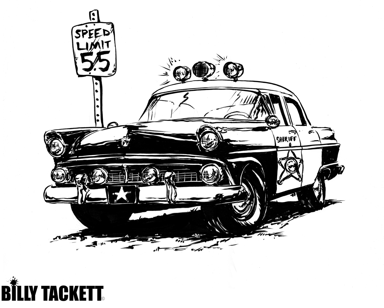 1955 FORD SQUAD CAR