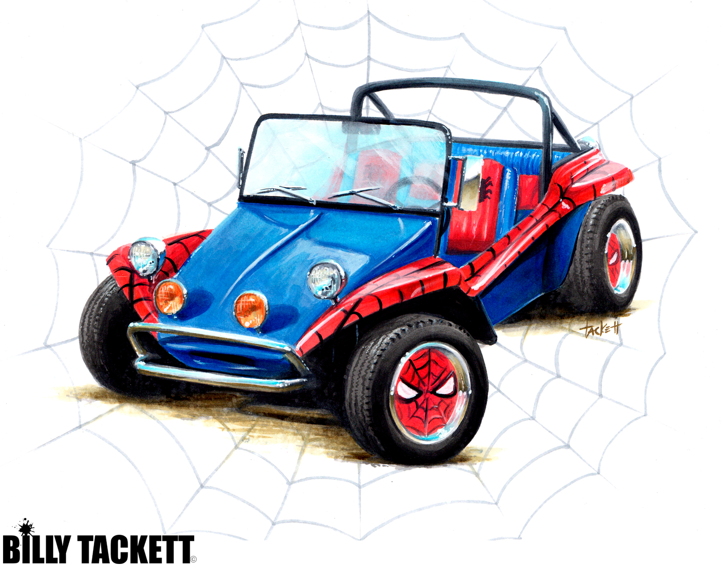SPIDER BUGGY 2