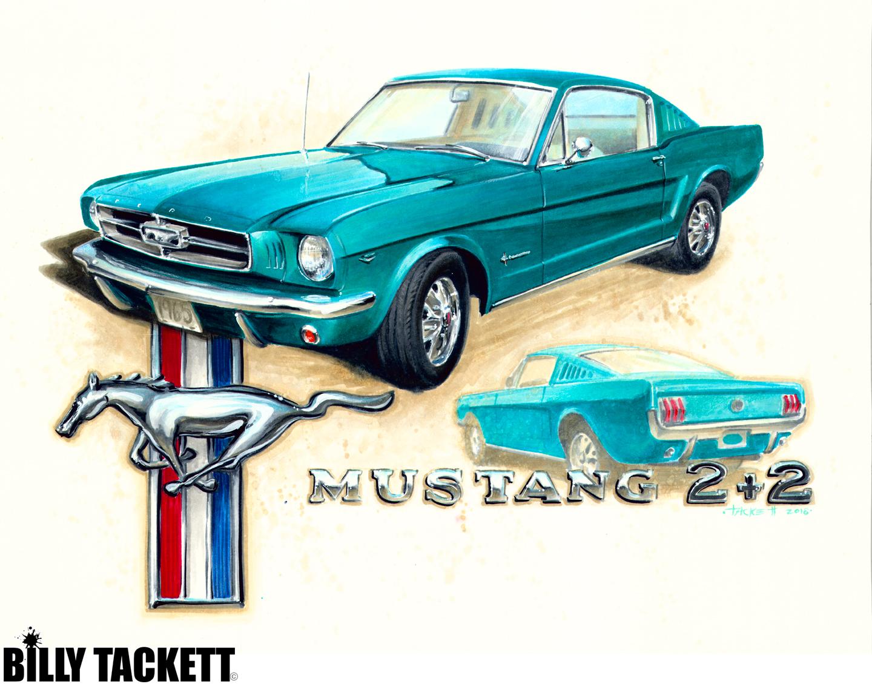1965 MUSTANG 2+2
