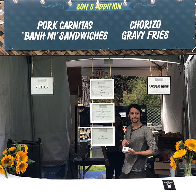 Kickin off day 1  @outsidelands  Come grab your Banh Mis and Dirty Fries! #musicfestival #outsidelands #osl #festivalfood #food #foodie #eeeeeats #eatersf #tablehopper #sfchronicle #foodandwine #dining #missionsf #sonaddition #cheflife #thrillist #sanfranciscofood #bayareafoodie #infatuationsf #sfgate #thrillist