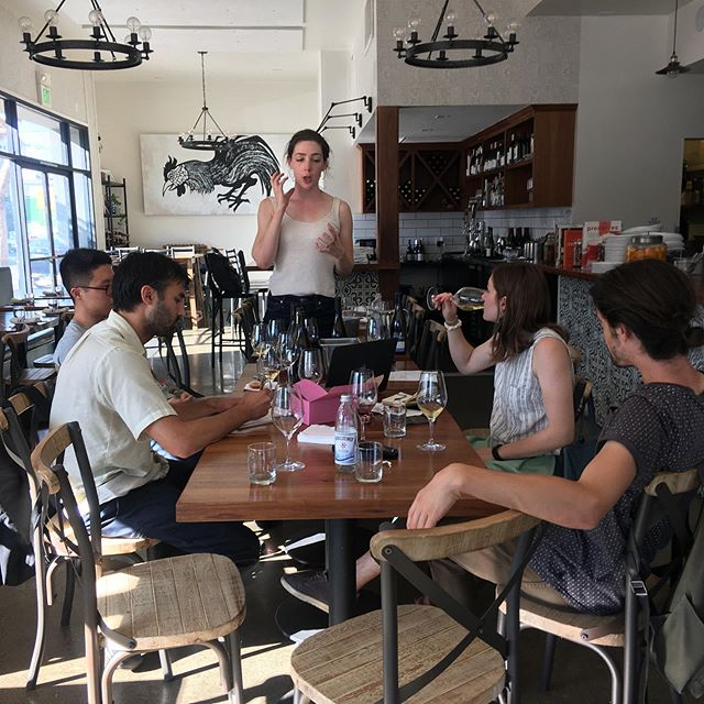 Server meeting: we go for quality over quantity. Our lean, but mean serving staff. . . . #leanandmean #wineknowledge #serverlife #server_life #missionsf #sonsaddition #dinesf #sfrestaurants #eeeeeats #wine #winetasting #winetastingparty #wineanddine #winefriday #friyay #friyayvibes #eatersf #restaurantlife #staffmeeting #staff #smallcrew #farmwines #knowledgeispower #drank #drankinmycup #vino #vinovino #lovemyjob