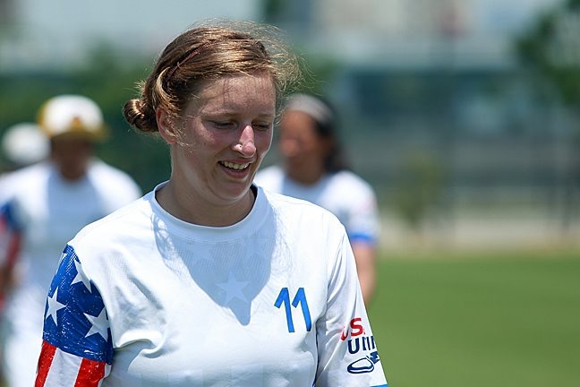 Miranda Roth Knowles playing for Team USA. (Facebook)