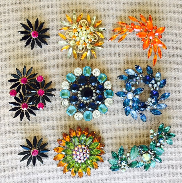 Vintage Brooches from the 1950's & 60's