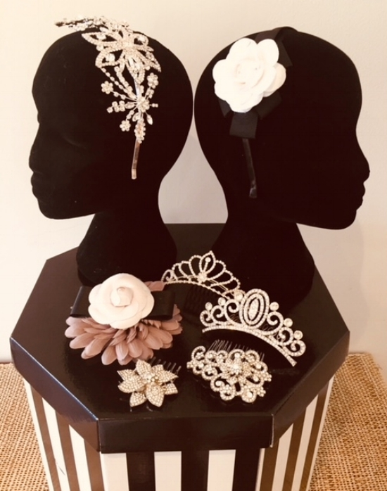 Head jewellery is perfect when you don't what anything too heavy or big