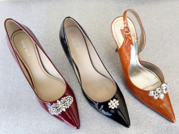 Glamming up the patent shoe