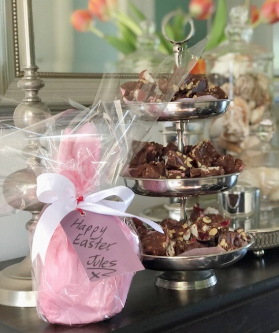 Make your Rocky Road using milk or dark chocolate - add cashew nuts if you prefer. Yum!  Enjoy your creative life, Jules