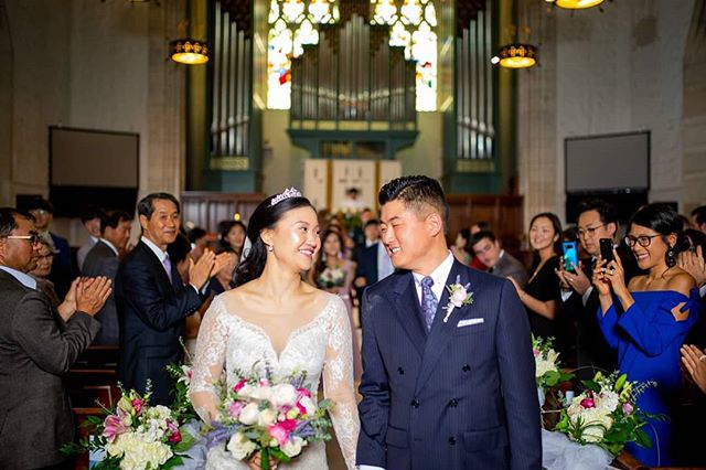 Happy one year anniversary @ohdemoiselle and @patrickyoo7 ❤️ it was awesome to see you last weekend at the expo and wishing you many many more years of happiness and love for each other. Have a wonderful day 😊
