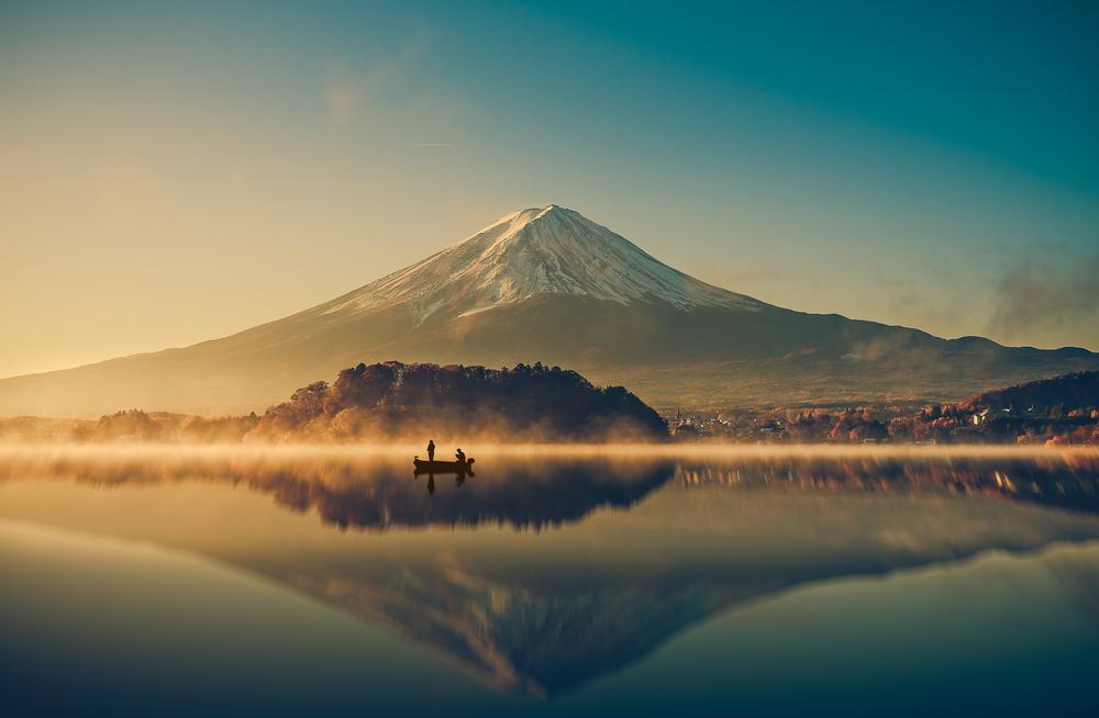 Mt. Fuji at sunrise